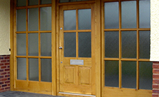 Bespoke Wooden Doors Devon